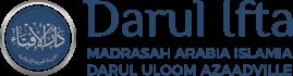 Darul Ifta – Madrasah Arabia Islamia – Darul Uloom Azaadville